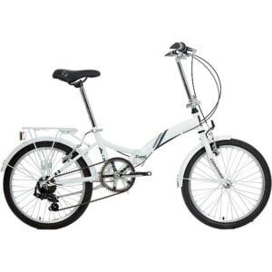 COMPASS 'Northern' Folding Bike, WHITE