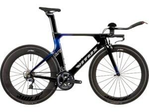 Vitus Auro CRS TT Bike (Ultegra) 2020 - Carbon-Blue Chameleon