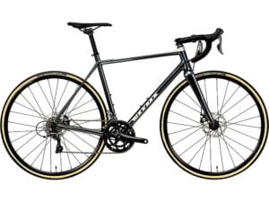Vitus Razor Disc Road Bike (Claris) 2020 - Black-Silver - XS