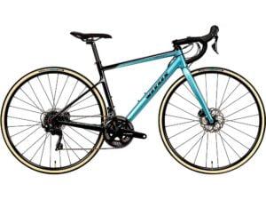 Vitus Zenium CRW Road Bike (105) 2020 - Teal-Carbon