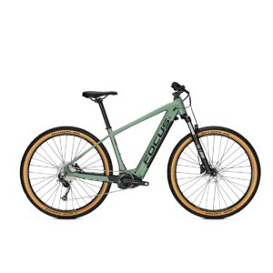 Focus Jarifa2 6.7 Seven 2020 Electric Hardtail Mountain Bike Green
