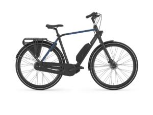 Gazelle Citygo C7 HMS 2020 Aluminium Electric Hybrid Bike Black
