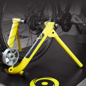 CycleOps Fluid Turbo Trainer with Speed Sensor Yellow