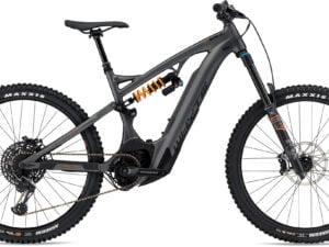 Whyte E180 RS Electric Mountain Bike 2020 Matt Gun Metal/Orange
