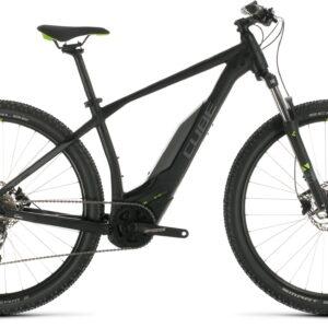 Cube Acid Hybrid One 400 29er Electric Mountain Bike 2020 Black/Green