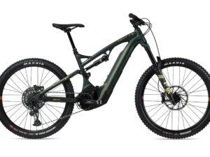 Whyte E-160 RS 27.5 Electric Mountain Bike 2021 Matt Moss/Yellow/Grey