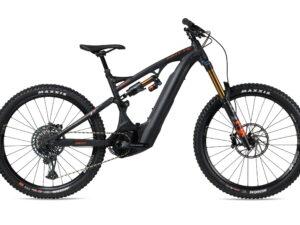 Whyte E-180 RS 27.5 Electric Mountain Bike 2021 Black/Burnt Orange
