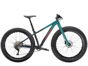 Trek Farley 5 Deore 10Spd Hardtail fat Bike 2021 Nautical Navy /Teal