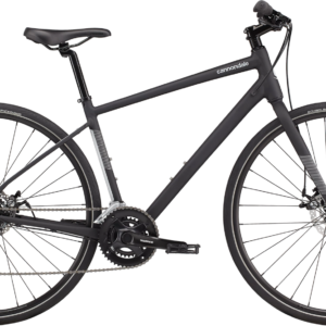 Cannondale Quick 5 Disc Hybrid Bike 2021 Matte Black