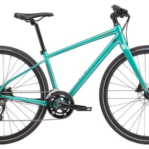 Cannondale Quick Disc 3 Womens Hybrid Bike 2021 Turquoise