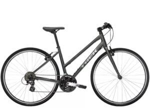 Trek Fx 1 Stagger Hybrid Bike 2021 Lithium Grey