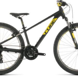 Cube Acid 260 26in Wheel Kids Mountain Bike 2020 Black/Yellow