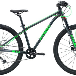 Frog MTB 69 26inch Wheel Kids Mountain Bike Grey/Green