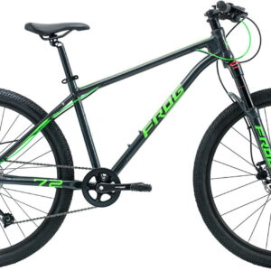 Frog MTB 72 26inch wheel Kids Mountain Bike Grey/Green