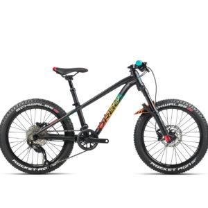 Orbea Laufey H10 20in Wheel Kids Mountain Bike 2021 Black/Rainbow