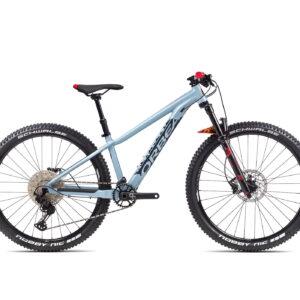 Orbea Laufey H10 27 Wheel Kids Mountain Bike 2021 Blue Grey/Red