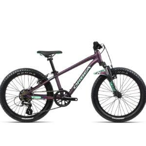 Orbea MX20 XC 20Inch Wheel Kids Mountain Bike 2021 Matte Purple/Mint
