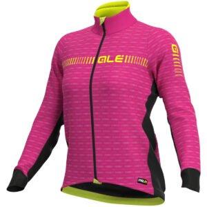 Alé Women's Graphics PRR Green Road Jacket - XL Cyclamen Yellow