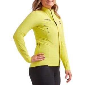 Black Sheep Cycling Women's Elements Micro Jacket - M Yellow   Jackets