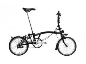 Brompton S6L Folding Bike 2021 Black