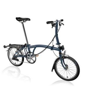 Brompton S6R Folding Bike 2021 Tempest Blue