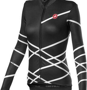 Castelli Diagonal Womens Long Sleeve Full Zip Jersey