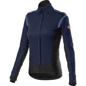 Castelli Women's Alpha ROS 2 Jacket - L Savile Blue   Jackets