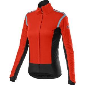 Castelli Women's Alpha ROS 2 Jacket - M Fiery Red   Jackets
