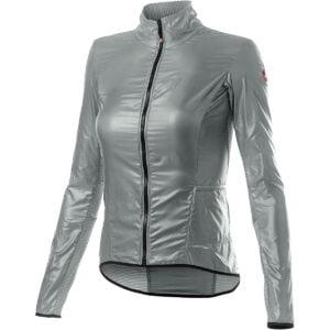 Castelli Women's Aria Shell Jacket - XL Silver Gray   Jackets