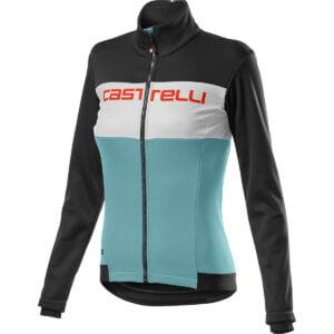 Castelli Women's Como Jacket - M Light Black/White/Ce   Jackets