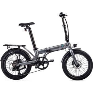 "EOVOLT Confort Lightweight Folding E-Bike (2021) - 20"" Wheel Grey"