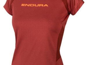 Endura SingleTrack Womens SS Jersey Cocoa