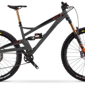 Orange Switch 6 Factory 29/27.5 Mountain Bike 2021 Norlando Grey