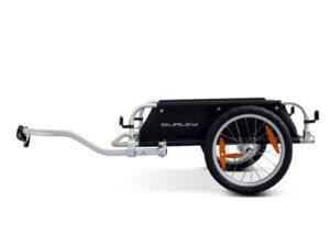Burley Flatbed Bike Touring Trailer Black