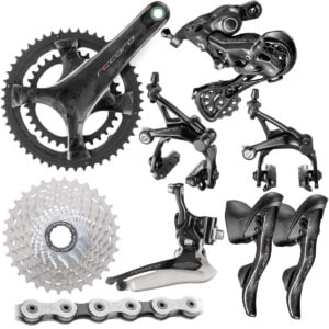 Campagnolo Record Groupset (12 Speed) - 172.5mm 34/50-11/32t Black