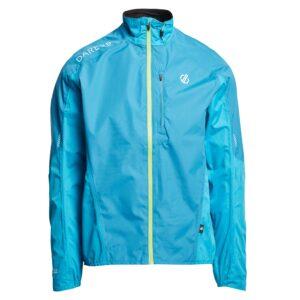 Dare 2B Men's Mediant Waterproof Cycling Jacket, BLUE/JACKET