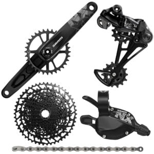 SRAM NX Eagle DUB 12sp Groupset - BOOST - 170mm 32T Black | Groupsets