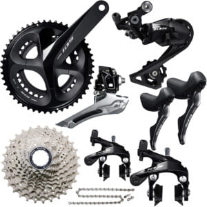 Shimano 105 R7000 11 Speed Groupset - 170mm 50.34 11-28 Black