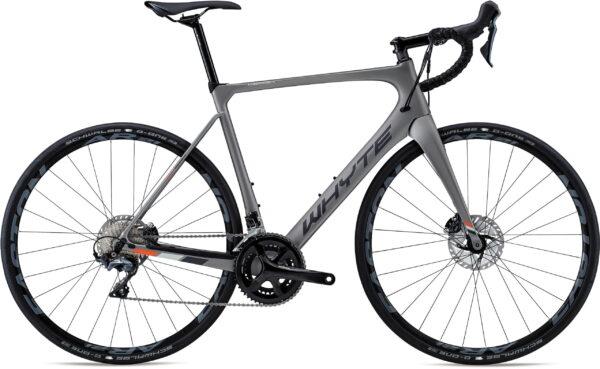 Whyte Wessex Road Bike 2021 Zinc/Black/Orange