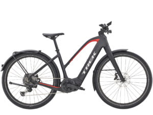 Trek Allant+ 9.9 Stagger Electric Hybrid Bike 2021 Matte Trek Black