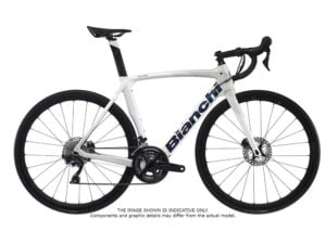 Bianchi Oltre XR3 CV Ultegra Di2 Disc 2022 Carbon Road Frozen White