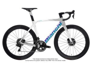 Bianchi Oltre XR4 CV Disc Ultegra Di2 2022 Carbon Road Frozen White CK16