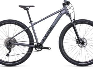 Cube Aim Ex Hardtail Mountain Bike 2022 Grey/Red