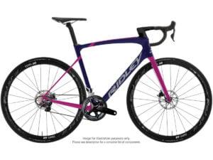 Ridley Liz SLiC Ultegra Road Bike (2021) - Medium Purple - Pink