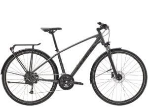 Trek Dual Sport 3 Equipped Hybrid Bike 2021 Metallic Gunmetal