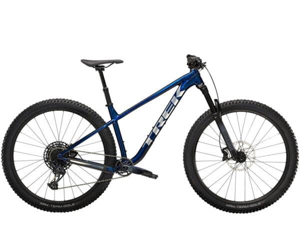 Trek Roscoe 8 Hardtail Mountain Bike 2022 Mulsanne Blue