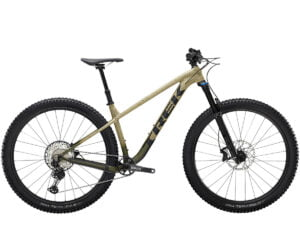 Trek Roscoe 9 Hardtail Mountain Bike 2022 Quicksand/Olive Fade/Black