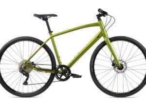 Whyte Shoreditch V2 Hybrid Bike 2021 Matt Olive Khaki/Burnt Orange