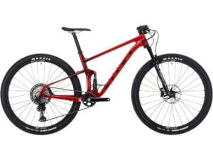 Vitus Rapide FS CRX Mountain Bike 2021 - Team Red, Team Red